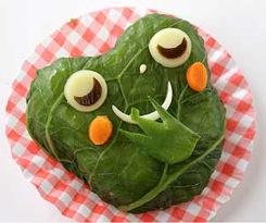 Mmmmmm ... crunchy frog!